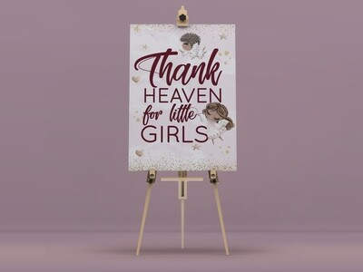 Thank Heaven Welcome Sign