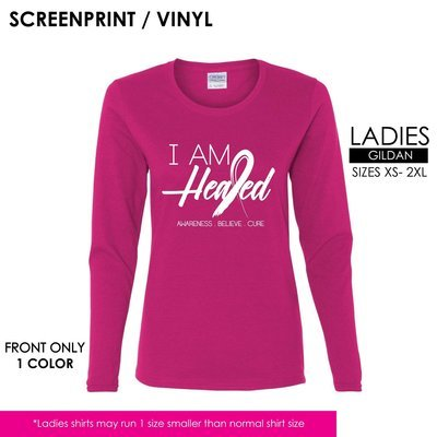 Breast Cancer Awareness 2017   I Am Healed