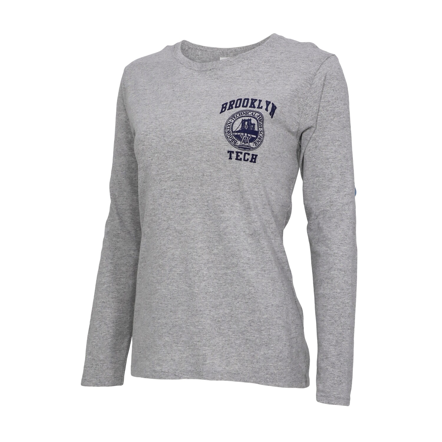 Women's Long Sleeve T-shirt - Navy Imprint
