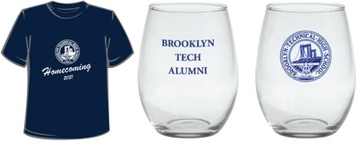Homecoming 2021 Bundle B - T-shirt and Toast Glass