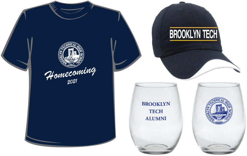 Homecoming 2021 Bundle D - T-shirt, Baseball Cap and Toast Glass