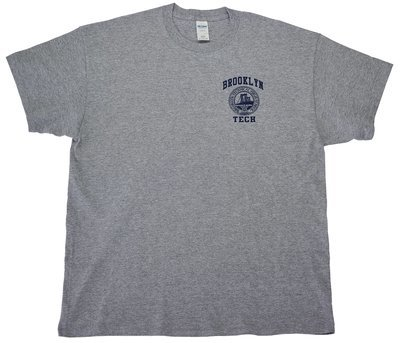 Short Sleeve T-shirt - Grey - Logo Imprint