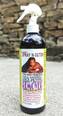 SPRAY N-DETOX  *natural build up remover*  (absolutely NO apple cider vinegar)