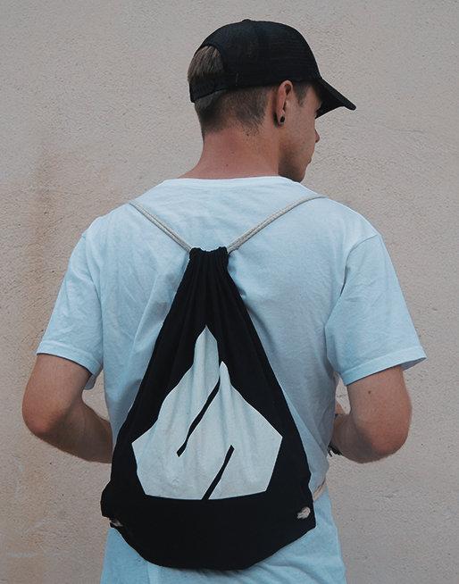 Subsurface All Black Gym Bag