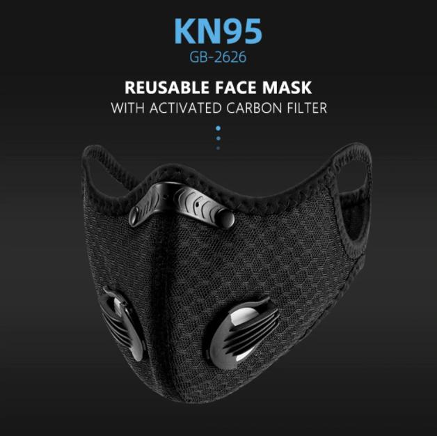Masque Antipollution pour 2 roues - PM2.5