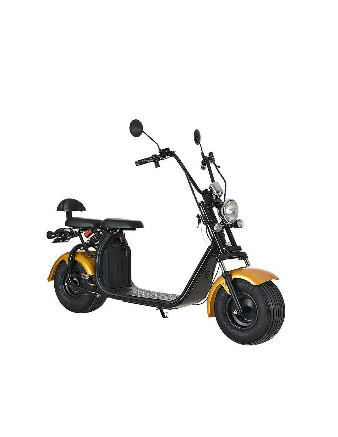 Scooter  Electrique City Coco Cool Homologué Route - Carte grise - Champagne