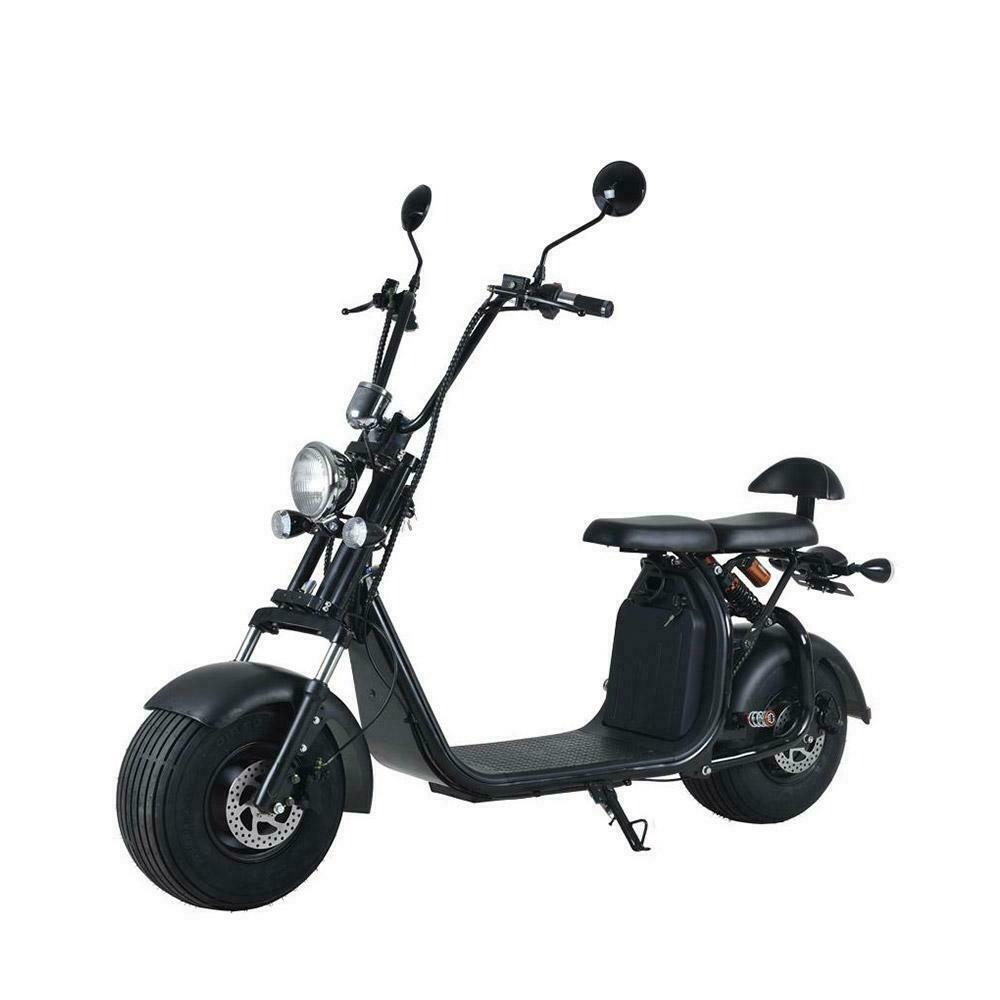 Scooter  Electrique City Coco Cool Homologué Route - Carte grise -  Noir