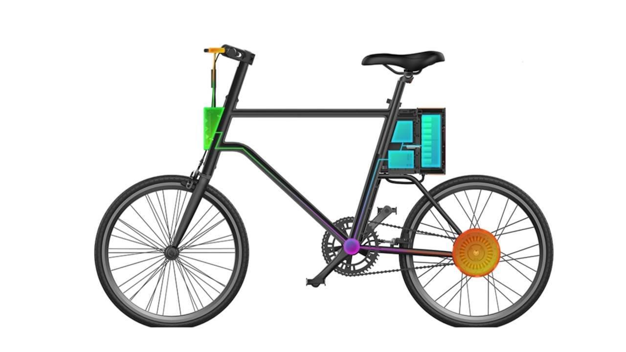 Vélo Electrique YunBike C1