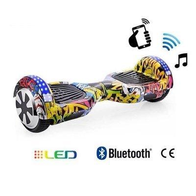 Hoverboard Classic Lumières LED - Graffiti