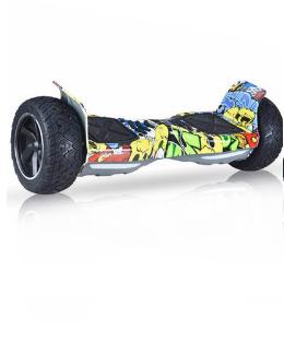 Hoverboard tout terrain Hummer - 1000W + APP + Bluetooth - GRAFFITI