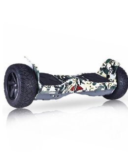 Hoverboard tout terrain Hummer - 1000W + APP + Bluetooth - MILITAIRE