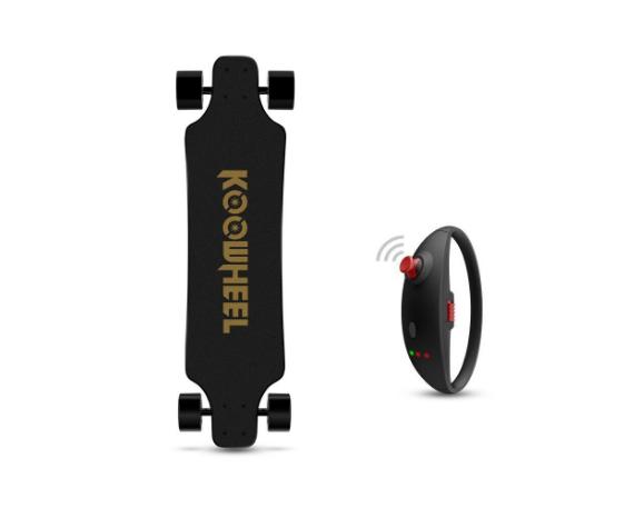 Skateboard électrique KOOWHEEL 2nde génération Onyx