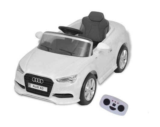 Voiture électrique pour enfants télécommandée Audi A3 Blanc