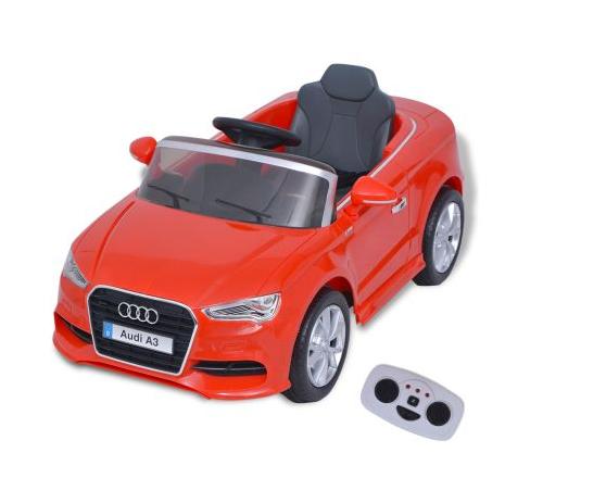 Voiture électrique pour enfants télécommandée Audi A3 Rouge