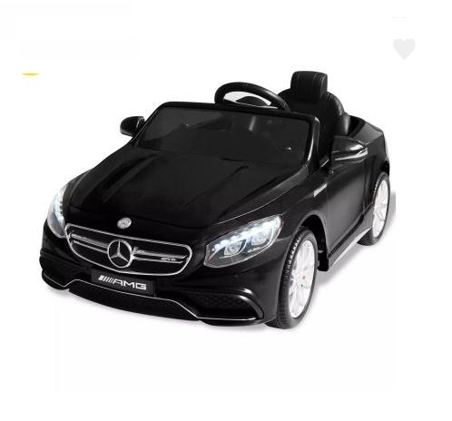 Voiture électrique pour enfants Mercedes Benz AMG S63 Noir