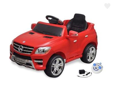 Voiture électrique avec télécommande Mercedes Benz ML350 rouge