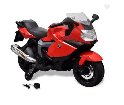 Moto électrique BMW K1300 S rouge pour enfant