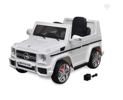 Voiture SUV électrique Mercedes Benz G65 2 moteurs Blanc