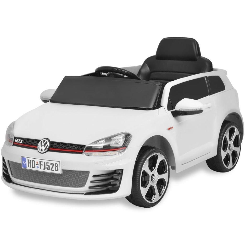 Voiture de course avec télécommande VW Golf GTI 7 Blanc 12 V