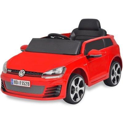 Voiture de course avec télécommande VW Golf GTI 7 ROUGE 12 V