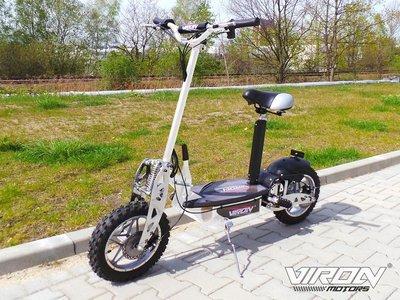Trottinette  Electrique CROSS 1000W - VIRON MOTORS BLANC