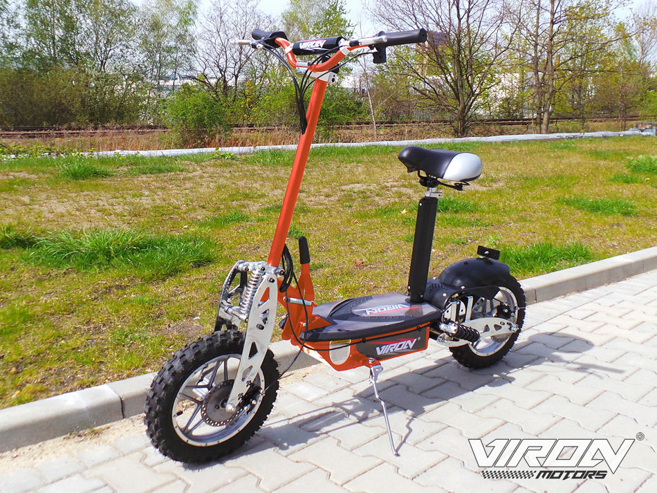 Trottinette  Electrique CROSS 1000W - VIRON MOTORS ORANGE