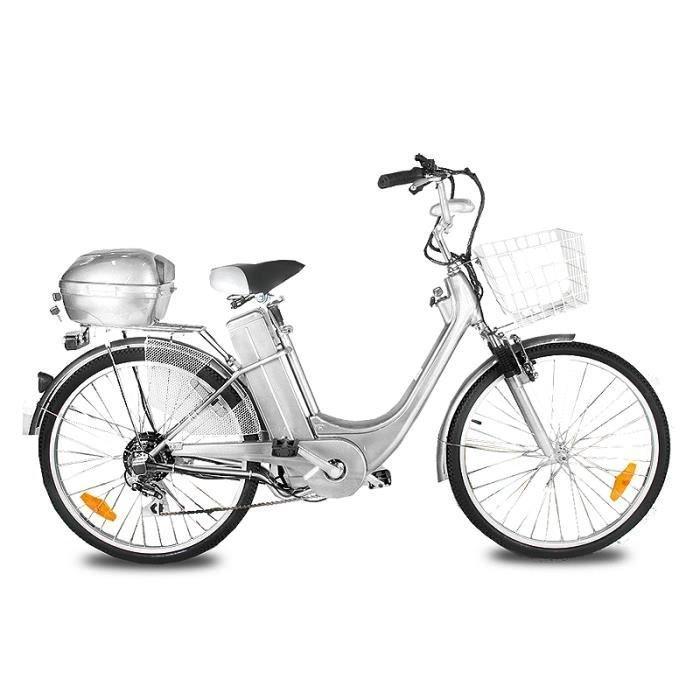 Vélo Electrique City Bike Viron Motors GRIS
