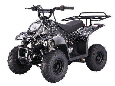 Quad à essence 110CC - 4 TEMPS - Noir araignée