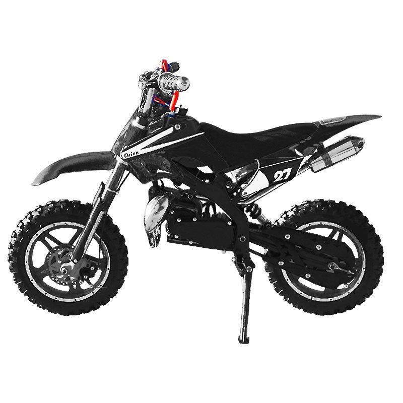 Mini moto cross enfant enduro 49cc Noir