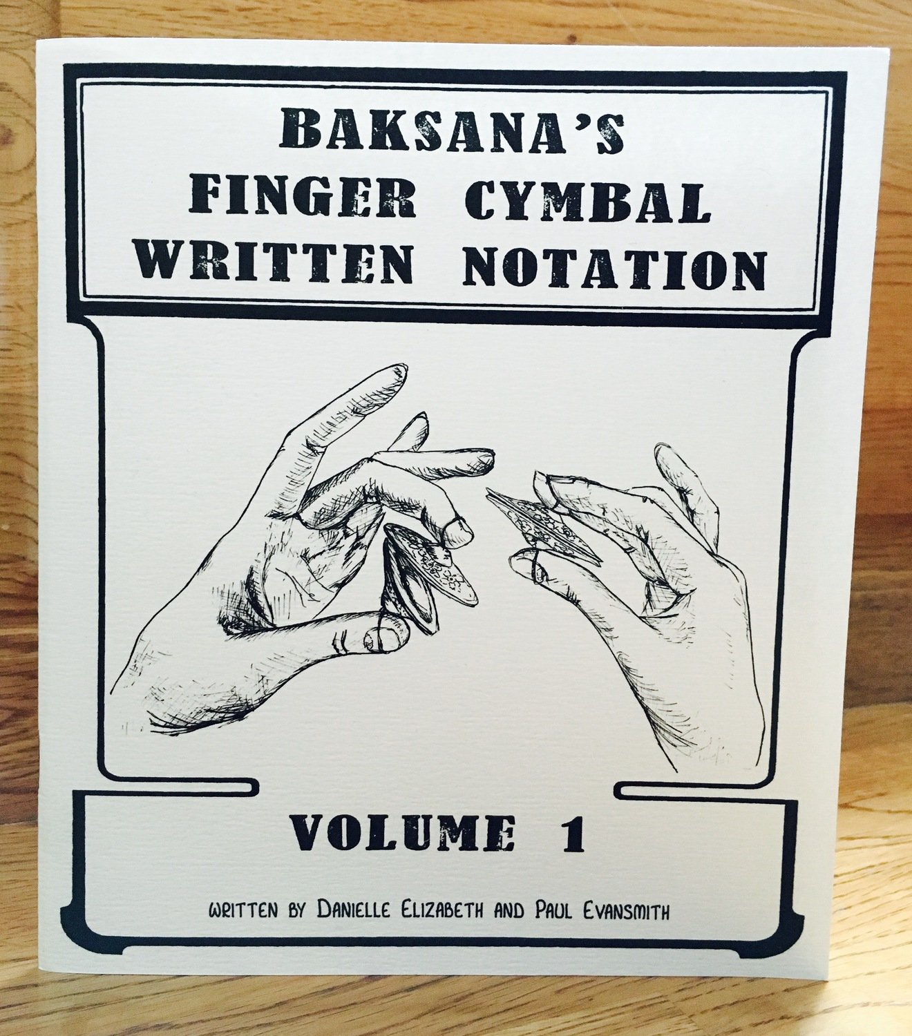 Baksana's Finger Cymbal Notation Vol. 1