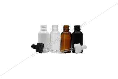 30ml Child Resistant Glass Dropper Bottle