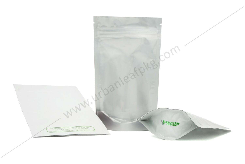 1/4 oz Clear & Foil Ziplock Bag