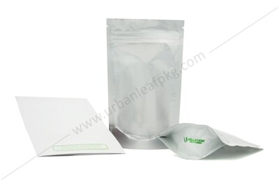 1/4 oz Clear & Foil Ziplock Bag