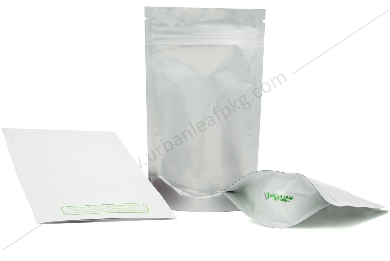 1/2 oz Clear & Foil Ziplock Bag