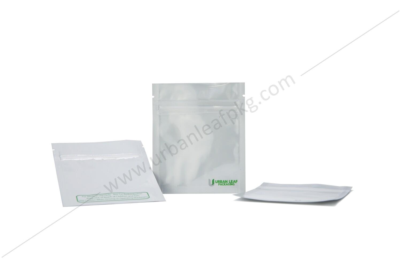 1 Gram Clear & Foil Ziplock Bag