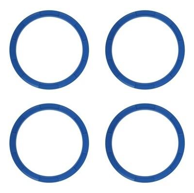 Vent Rings (2014+ Tundra) - VOODOO BLUE