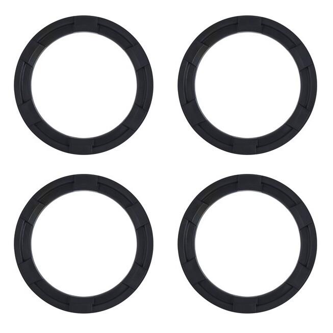 Vent Rings (2016+ Tacoma) - BLACK