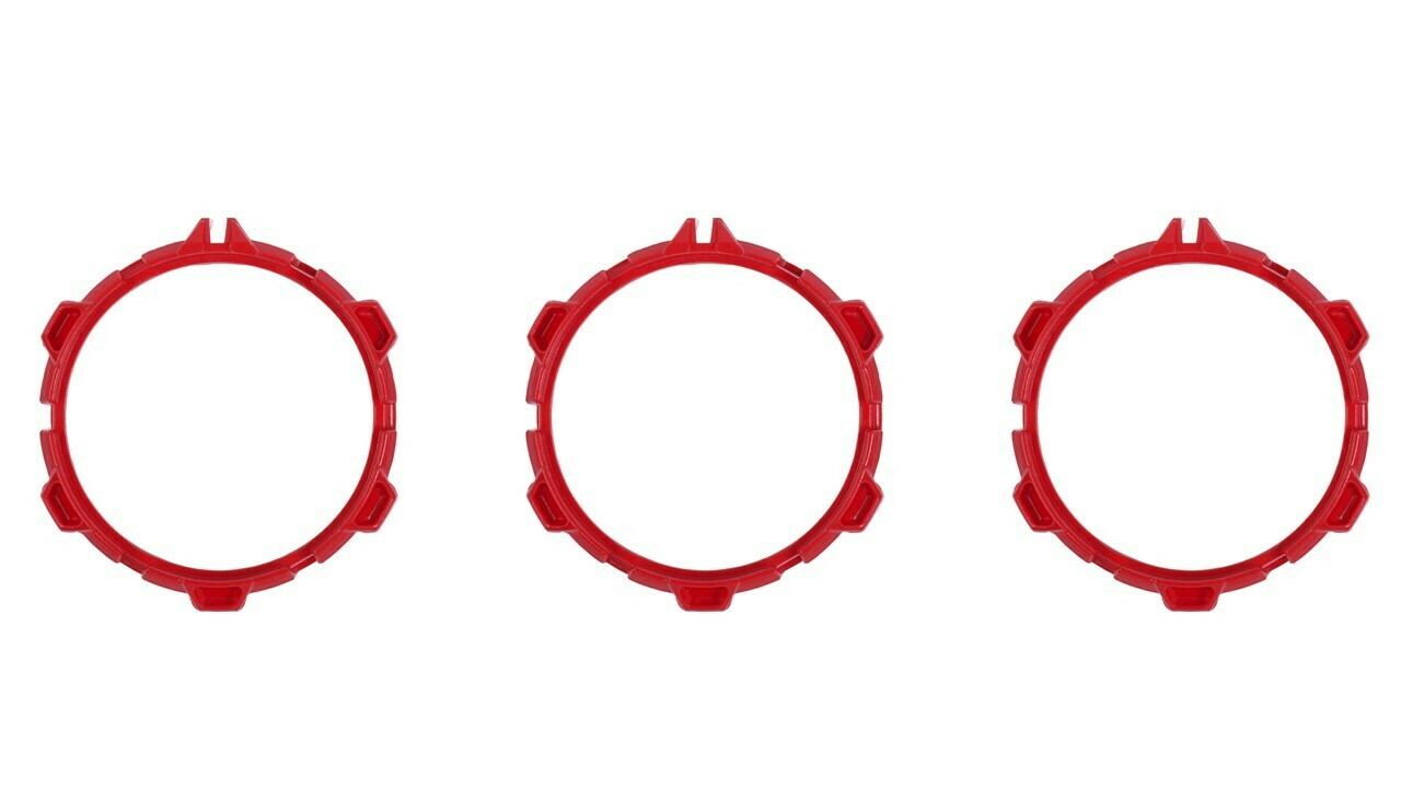 Climate Rings (2016+ Tacoma) - RED