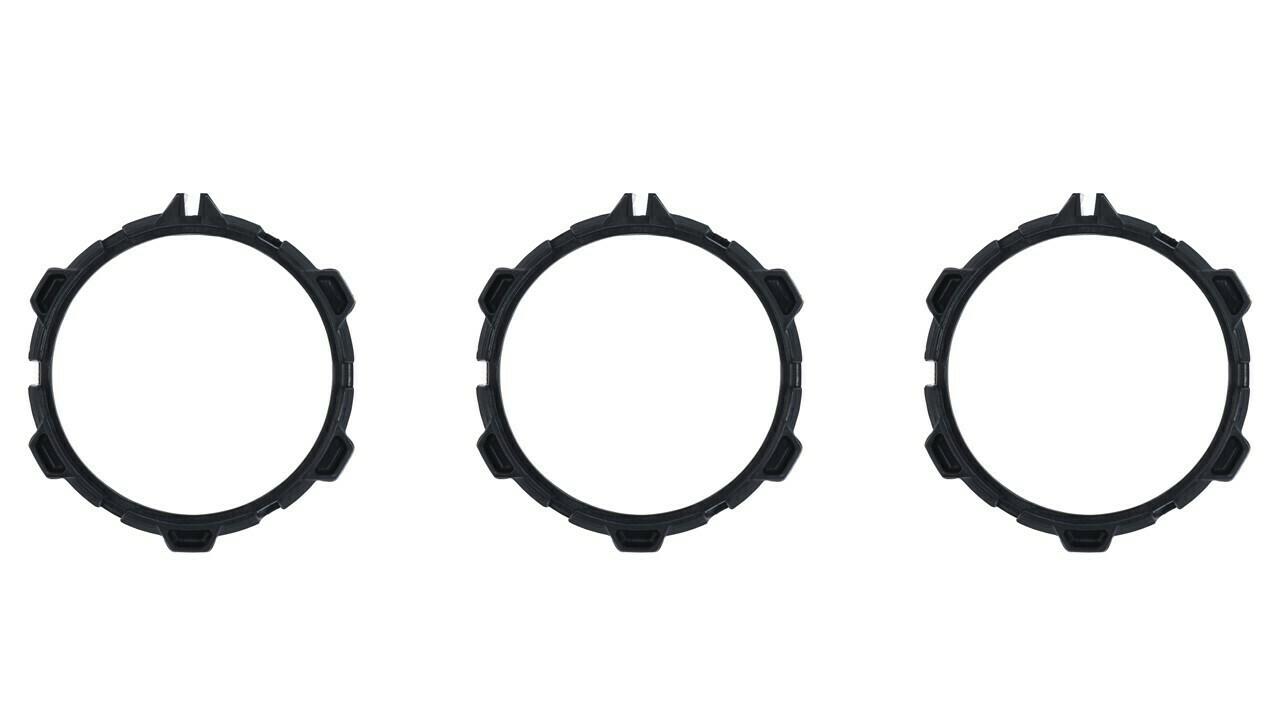 Climate Rings (2016+ Tacoma) - BLACK