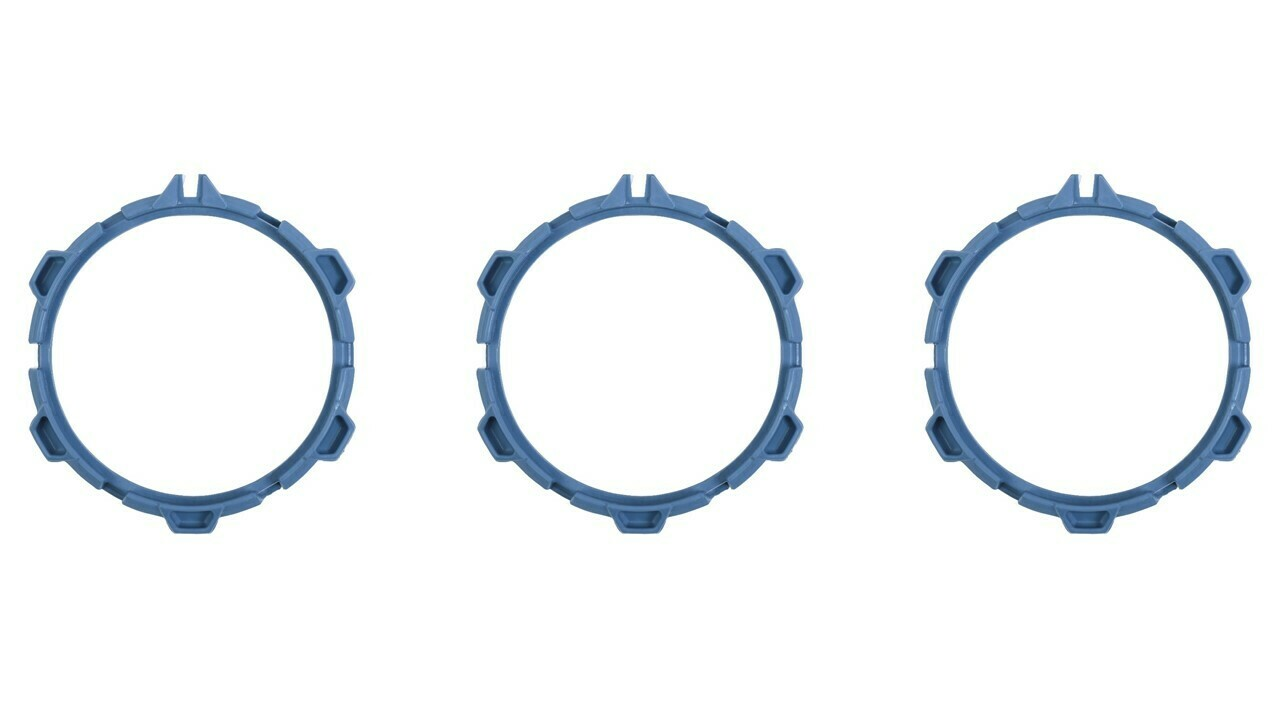 Climate Rings (2016+ Tacoma) - CAVALRY BLUE