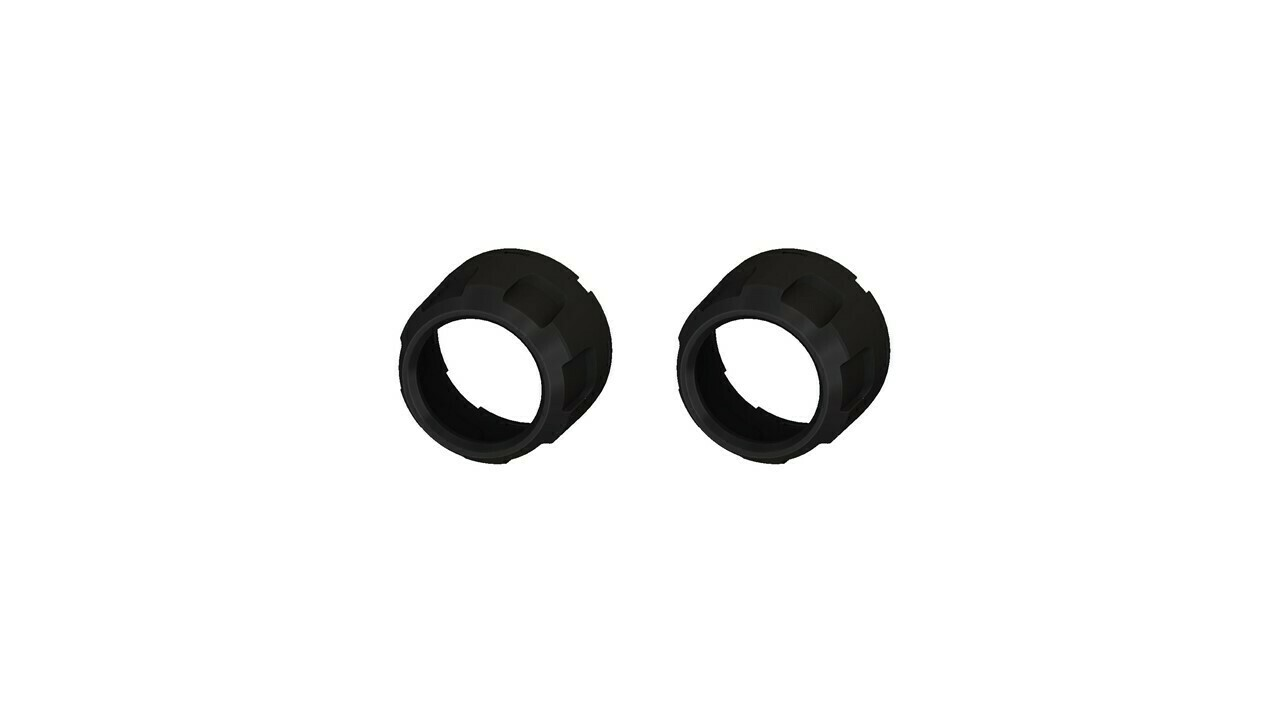 Climate Knobs (2014+ Tundra Dual Zone) - 2 PACK - BLACK