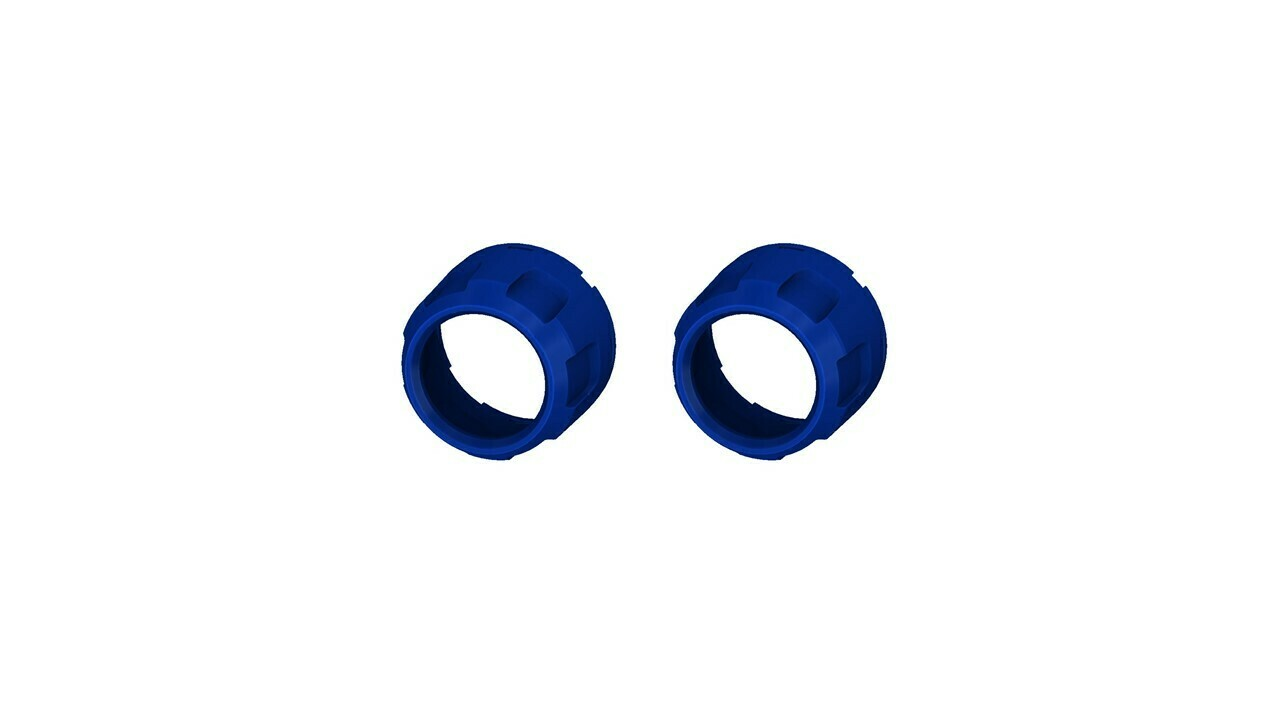Climate Knobs (2014+ Tundra Dual Zone) - 2 PACK - VOODOO BLUE