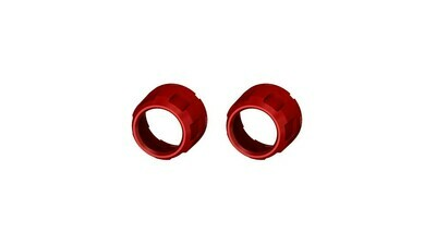 Climate Knobs (2014+ Tundra Dual Zone) - 2 PACK - RED