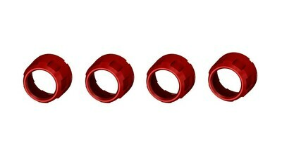 Climate Knobs (2007-2013 Tundra LIMITED) - 4 PACK - RED