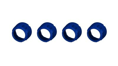 Climate Knobs (2007-2013 Tundra LIMITED) - 4 PACK - VOODOO BLUE