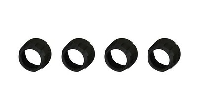 Climate Knobs (2007-2013 Tundra LIMITED) - 4 PACK - BLACK
