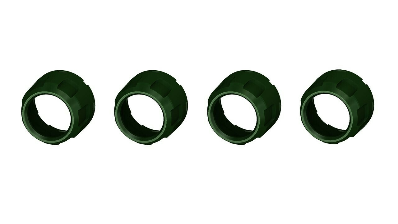 Climate Knobs (2007-2013 Tundra LIMITED) - 4 PACK - ARMY GREEN