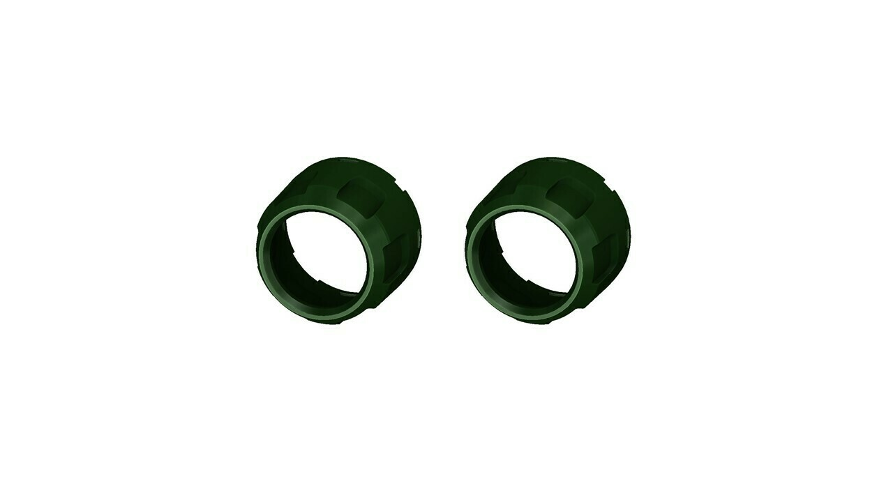 Climate Knobs (2014+ Tundra Dual Zone) - 2 PACK - ARMY GREEN
