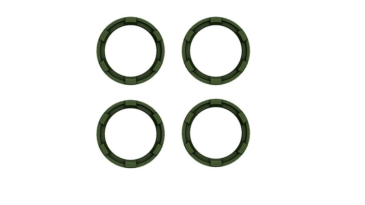 Vent Rings (2016+ Tacoma) - ARMY GREEN