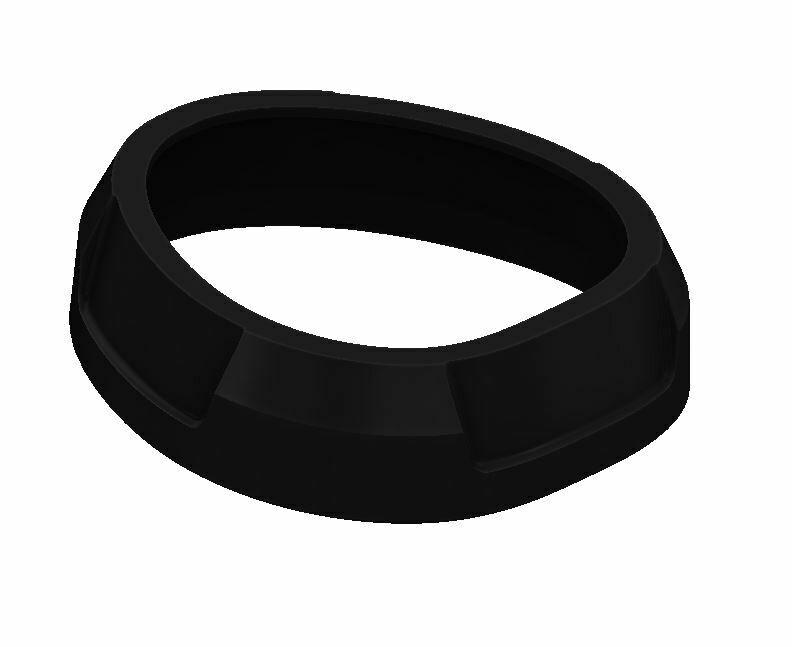 Shift Knob Trim Ring (2016+ Tacoma) - BLACK